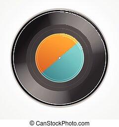 Vinyl Record. Vector
