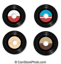 vinyl vector illustration