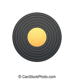 Vinyl vector illustration