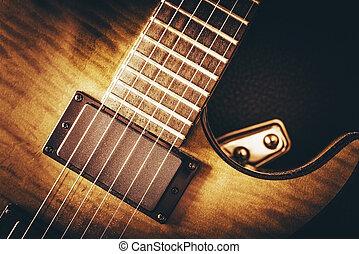 violão elétrico, conceito