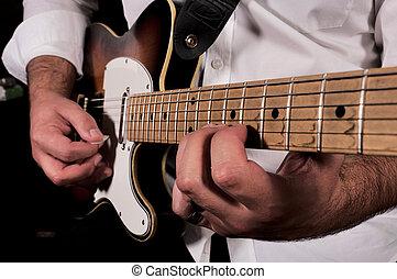 violão jogando