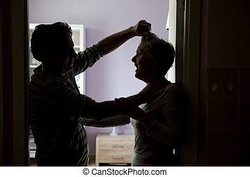 violência, doméstico