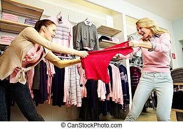 violência, shopping