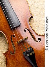 violín, cicatrizarse