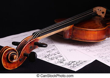 violín, instrumento
