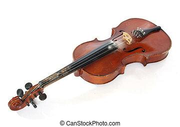 violín, viejo