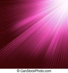 viola, 8, luminoso, eps, rays.