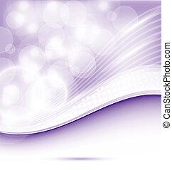 viola, astratto, ondulato, disegno, fondo