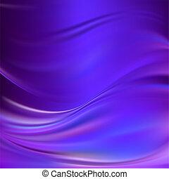 viola, astratto, seta, vettore, struttura