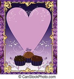 viola, cioccolato, scheda
