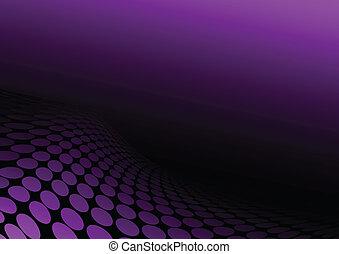 viola, collina, puntino