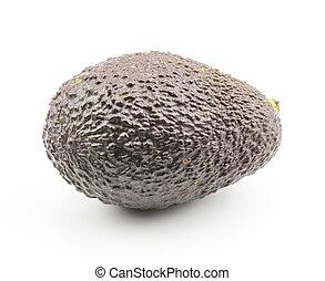 viola, fresco, bianco, avocado, isolato