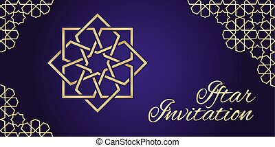 viola, iftar, invito