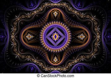 viola, julian, fractal
