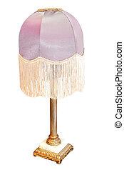 viola, lampada