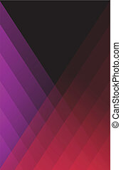 viola, moderno, sfondo rosso