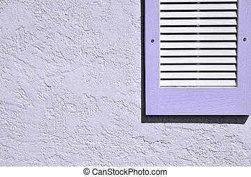 Parete lavanda stucco concreto dipinto o parete - Intonacare muro esterno ...