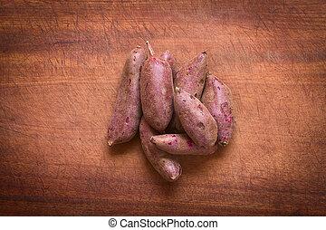 viola, patata dolce