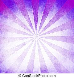 viola, raggi, fondo, struttura, vuoto