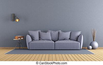 viola, salotto, moderno
