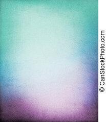 viola, sfondo verde