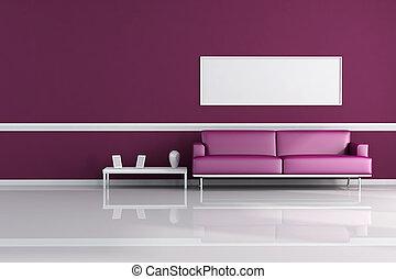 viola, soggiorno