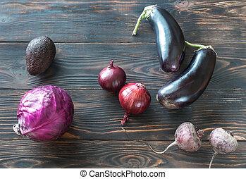viola, verdura