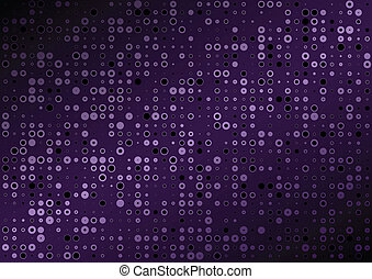 viola, vettore, fondo, puntino