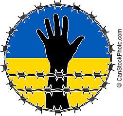 violación, de, derechos humanos, en, ukrain