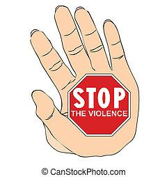 violence, arrêt, contre, femmes