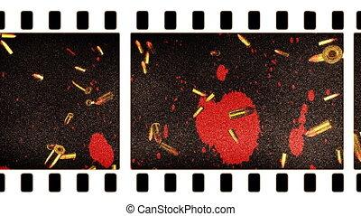 Violence in Movies Loop