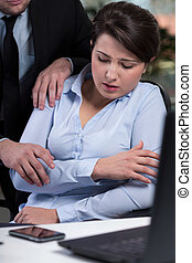 Violence in the workplace - Secretary being victim of...