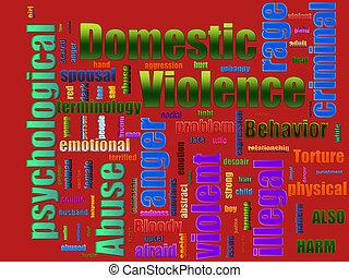 violencia, abuso doméstico
