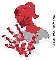 violencia, contra, mujeres