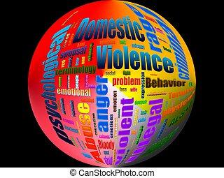 violencia doméstica, abuso