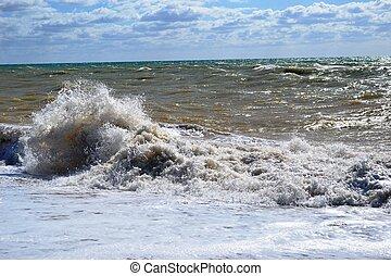 Violent wave