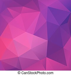 Violet Abstract Polygonal Background
