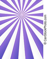 Violet and white rays abstract circus poster background