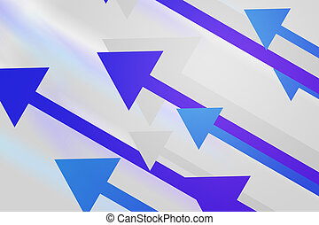 Violet Arrows Abstract Background