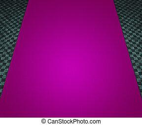 Violet Carpet Background