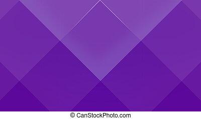 Violet cubic background