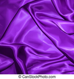 Violet fabric satin texture for background. Vector...