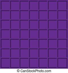 violet, géométrique, design., fond, carrée, moderne, ton, résumé