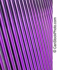 violet glass tube heap, solar panel details