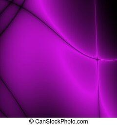 violet glow - violet fractal