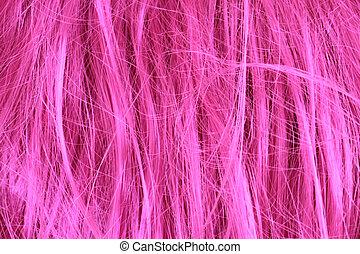 violet hair texture