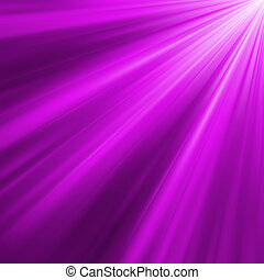 Violet luminous rays. EPS 8