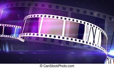 """Violet Movie Making Film Rolls"" - ""An amazing 3d rendering..."