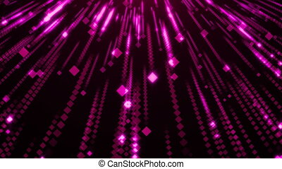 Violet Particles Glitter Glamour Rain
