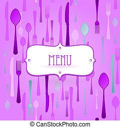 Violet Restaurant Card
